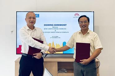 Lễ ký kết hợp tác giữa VIG Invest – Công ty KNIC