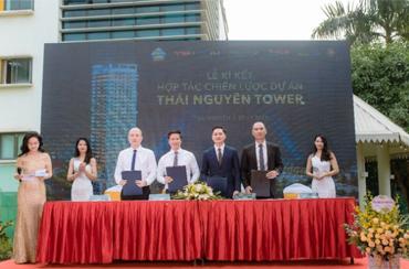 Hàng loạt tên tuổi lớn hội tụ tại Lễ ký kết hợp tác và kick-off bán hàng dự án Thái Nguyên Tower